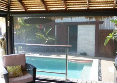 Pool House from Inside