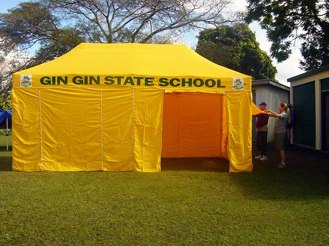 Gin Gin State School Tent