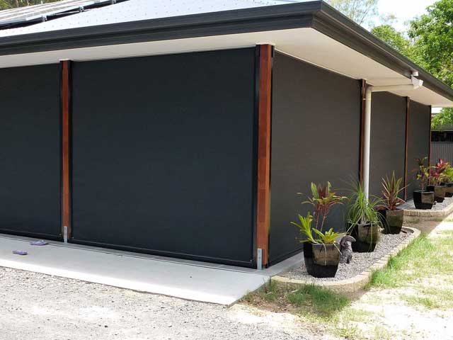 Enclosed Patio – Outside