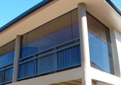 Upper Level Balcony Blinds