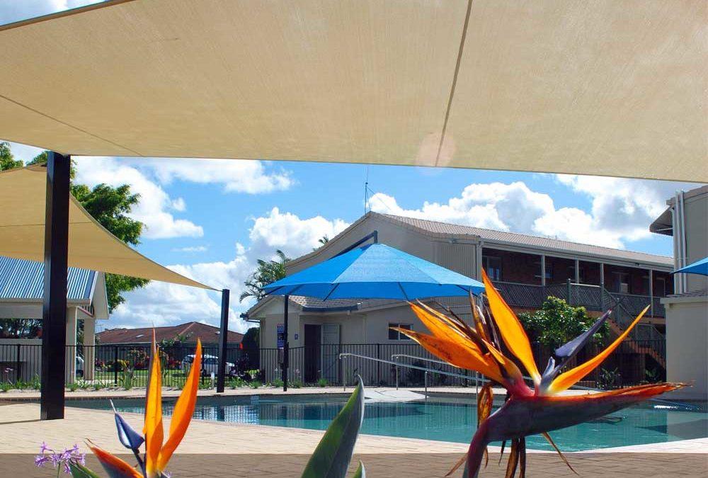 SupaShades with Blue Umbrella
