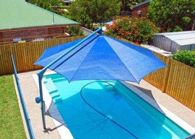 Blue Pool Umbrella