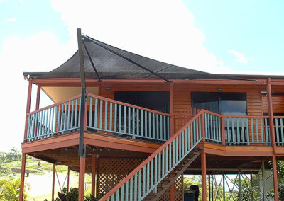 2nd Storey Verandah - Z16 Black with Black
