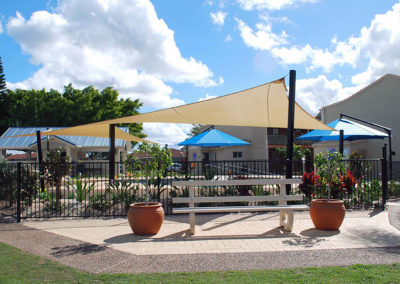 Argyle Gardens replacement shade sails- Z16 Desert Sand