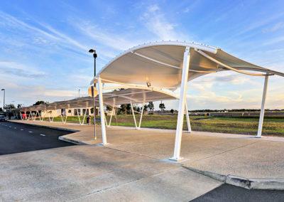 Bundaberg Airport Walkway Structure 1