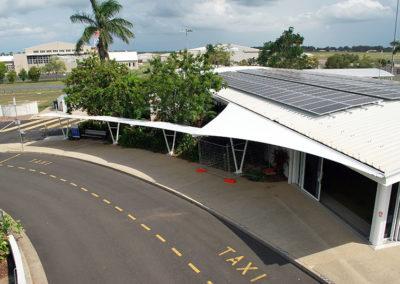 Bundaberg Airport Walkway Structure 4