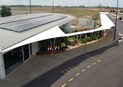 Bundaberg Airport Walkway Structure 5