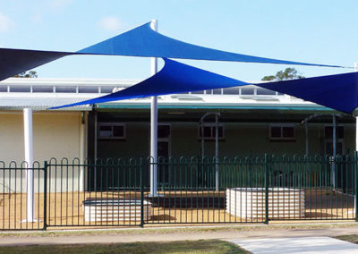Bundaberg Special School - E32 Navy & Royal Blue with White