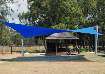 Norville State School - Commshade Aquatic Blue